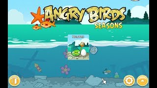 Angry Birds Seasons. Piglantis (level 1-8) 3 stars Прохождение от SAFa