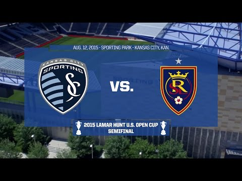 2015 Lamar Hunt U.S. Open Cup - Semifinal: Sporting Kansas City vs. Real Salt Lake