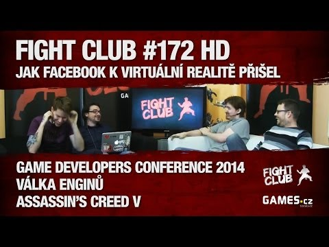 Fight Club #172 HD - Jak Facebook k virtuální realitě přišel