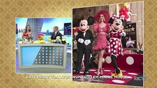 Baixar A Hora da Venenosa: Katy Perry usa look inspirado em Minnie Mouse