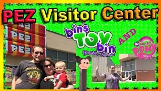 Bins Toy Bin Family Vlog: PEZ Visitor Center Adventure with TheCrazyPonyLady and Mr. Brony!