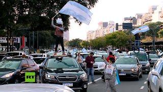 Cientos de argentinos protestan contra la reforma judicial