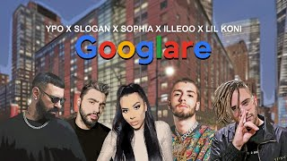 Ypo, Slogan, Sophia, iLLEOo, Lil Koni - Googlare (Official Video Visualiser)