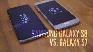 Samsung Galaxy S8 vs. S7 im Vergleich (deutsch): Generationen gegenübergestellt - GIGA.DE