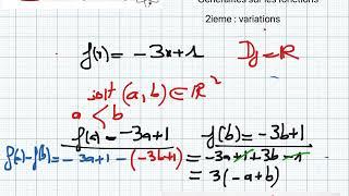 généralités sur les fonctions 2 ieme : sens de variation website ht...