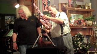 SaxRax Saxophone Stands with Paul Coats