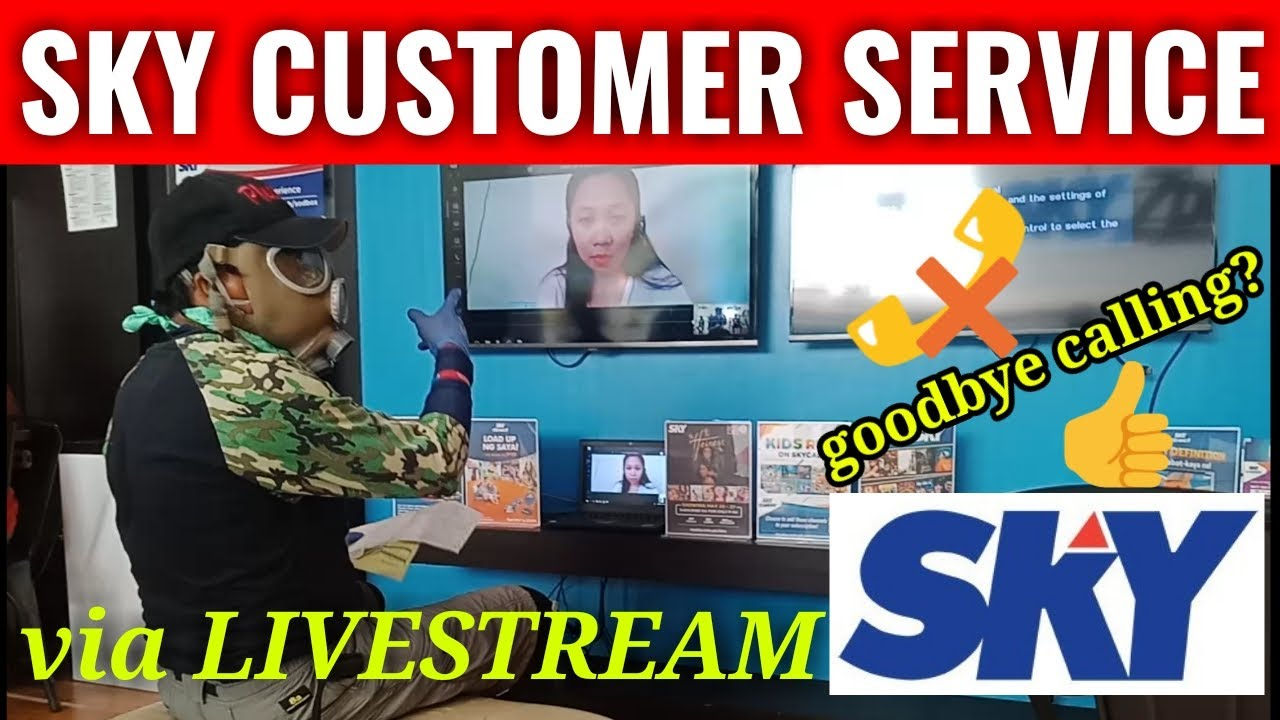 Sky Cable Customer Service High Tech Youtube