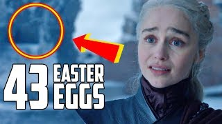Game of Thrones Finale Easter Eggs
