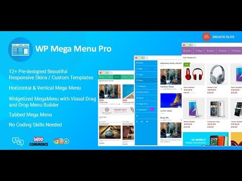 The Best Responsive WordPress Mega Menu Plugin - WP Mega Menu Pro ...