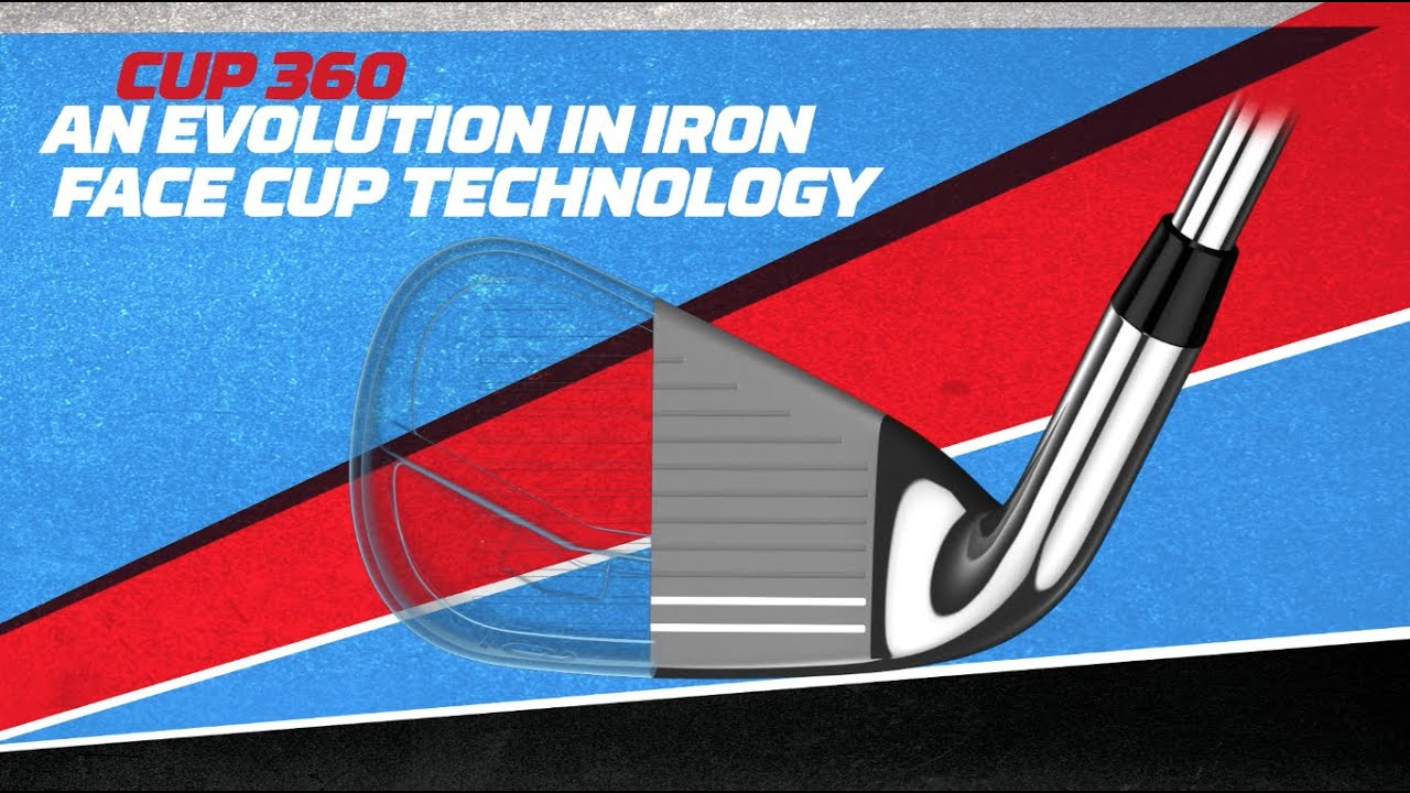 360 Face Cup Technology in XR Irons