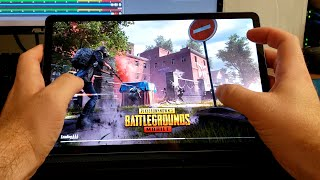PUBG Mobile on Samsung Galaxy Tab S6 Tablet (Playerunknown's Battlegrounds)
