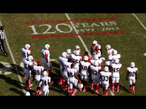 2012 WSSU Football 50 yard pass completion