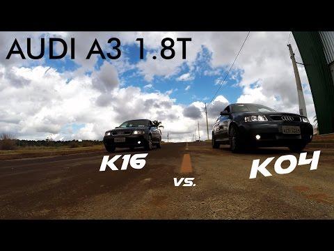 Audi A3 1.8T K04 ou K16. Quem leva? l VLOG #19