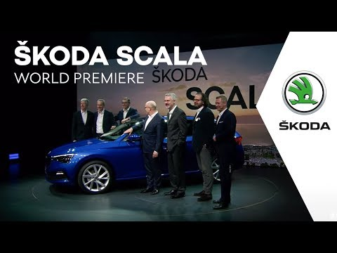 ŠKODA SCALA: World Premiere