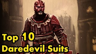 Top 10 Daredevil Suits