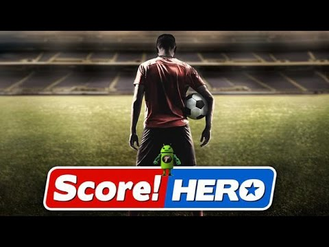 Score Hero: Football games in Android: best 10 to download