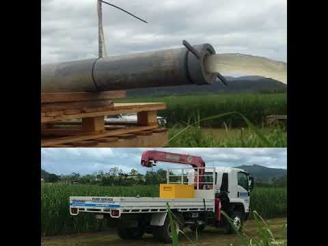 Bore Hole Testing - Sugar Cane Farm