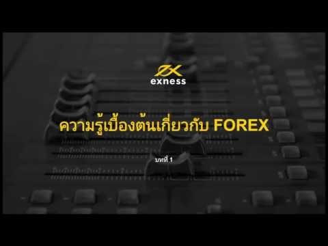 ความรู้เบื้องต้นเกี่ยวกับ Forex  Part1