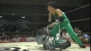 山田敏代 vs. ハーレー斎藤(LLPW) 3/4 ハーレー斉藤 検索動画 24