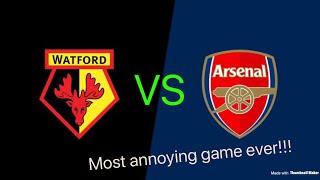 Watford vs arsenal scum vlog