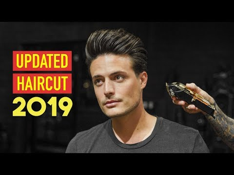 How I Get A Haircut While Growing Out My Sides | Mens Hairstyle 2019