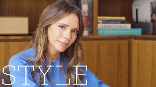 Victoria Beckham on her first date with David, Spice Girls and the 90s | BeautyBOSS | Style