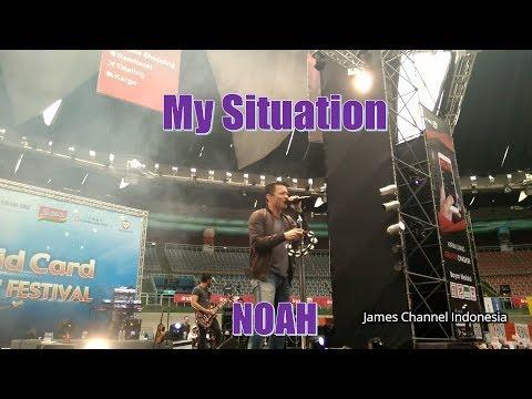 Noah Konser Taiwan 2017 - My Situation (Full HD 29 10 2017)