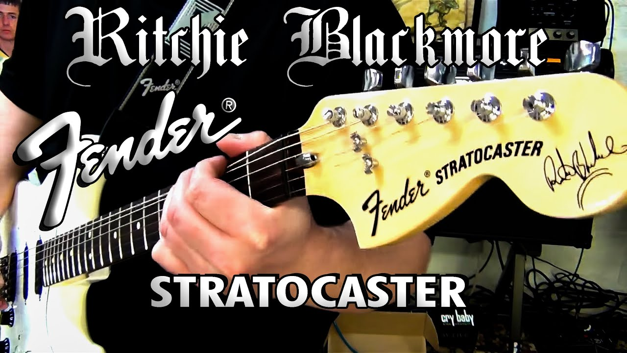 fender ritchie blackmore stratocaster july 15 2013 [ 1280 x 720 Pixel ]
