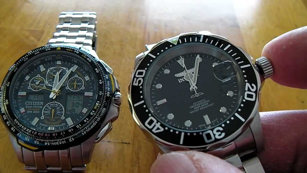Invicta Pro Diver 8926 Automatic Watch Accuracy Testing - YouTube b1d600c46b