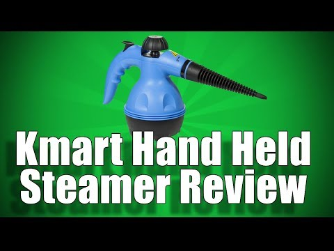 Kmart Hand Held Steamer Review