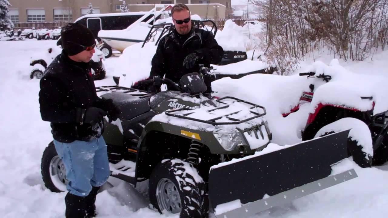 Arctic Cat Snow Plow