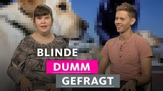 Blinde tragen immer Sonnenbrillen!   1LIVE Dumm Gefragt