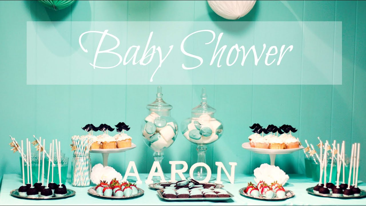 Ideas Para Baby Shower Part - 39: MI BABY SHOWER ? IDEAS PARA FIESTA + OUTFIT | JORYCK - YouTube