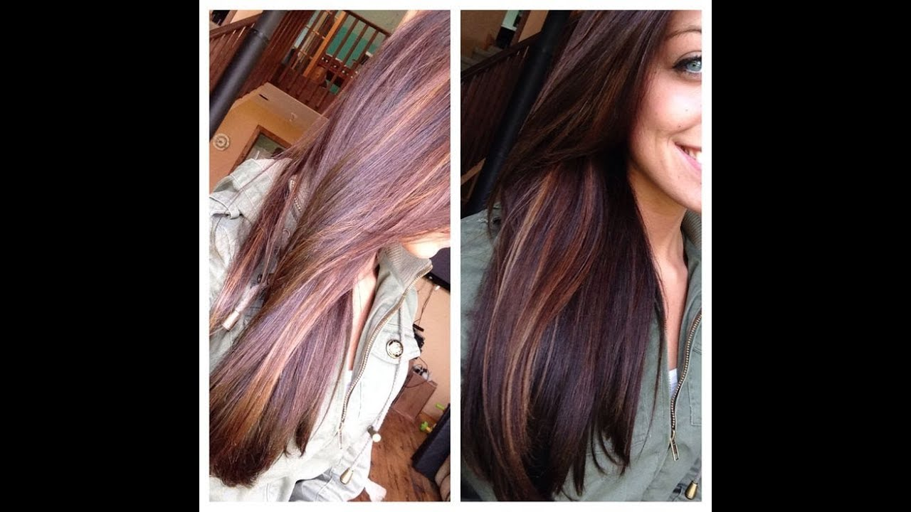 30 Hair Highlights For Dark Brown Caramel Brunette Color You