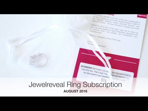 Jewelreveal Ring Unboxing August 2016