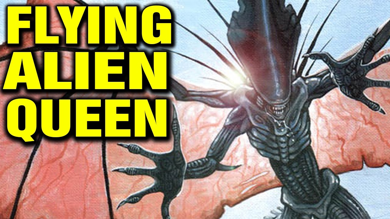 Flying Queen Alien Explained Xenomorph Mutations Youtube