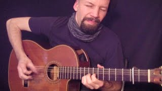 (Pride & Joy) Stevie Ray Vaughan - fingerstyle acoustic cover by Daryl Shawn