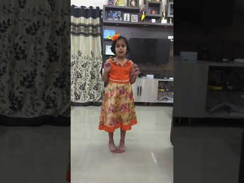 Speech about 'Say no to plastics' by 5 years old girl