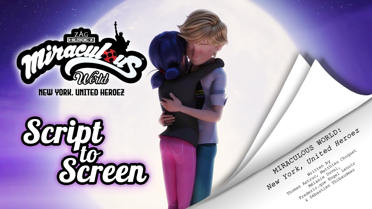 Download MIRACULOUS WORLD   ⭐ ROOFTOP PARTY - Script to screen ✍🗽   New York: United Heroez