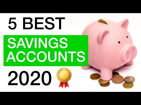 The 5 BEST Online Savings Accounts In 2020!