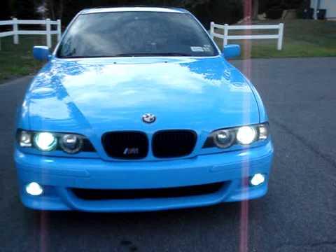 Custom Bmw E39 M5 Clone Laguna Seca Blue Youtube