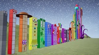 Скачать Fan Made Numberblocks Are Counting From 1 To Most Biggest 1 000 000
