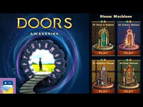 Doors: Awakening - Chapter 2 Steam Machines, Levels 5 6 7 8 Walkthrough (by Snapbreak / Bigloop)