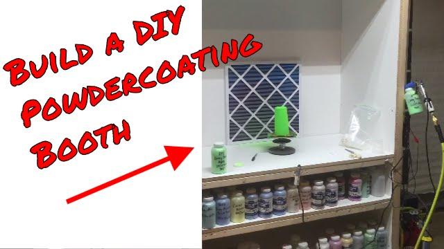 building a diy powder coating booth
