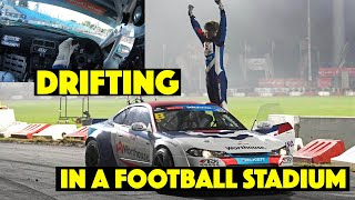 Part II: Drifting in a Football Stadium! | Worthouse S15 & Falken E92 Eurofighter in Płock