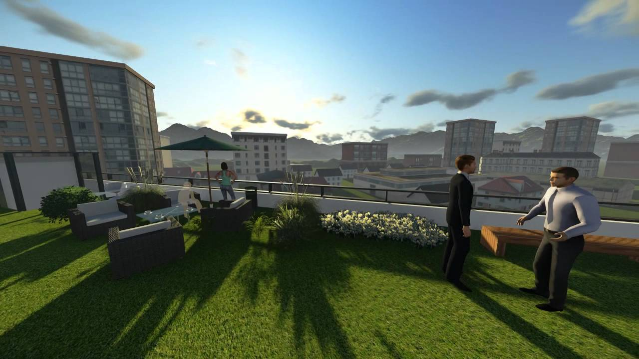 Green Roof animation