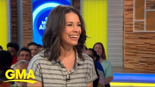 Evangeline Lilly chats about her new Dr. Seuss-inspired children's book | GMA