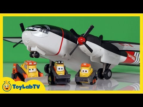 disney planes fire and rescue meet the team cabbie