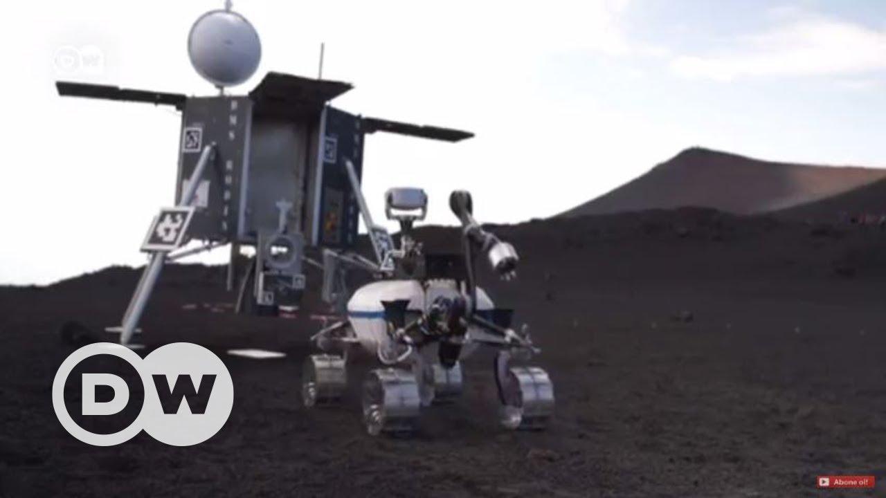 Etna'da Ay misyonu çalışmaları - DW Türkçe