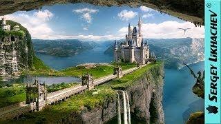 Dragon Land / Земля драконов - Speedart Photoshop CS6 by BATKYA